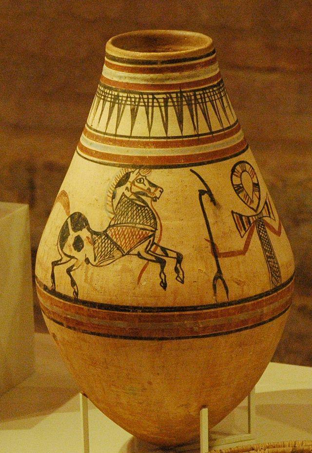 Bier Krug aus dem alten Äqypten